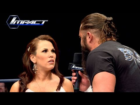 Mickie James Returns To Confront Bram About Magnus (Feb. 20, 2015)