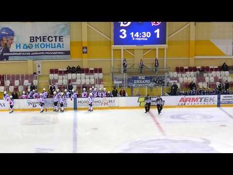 2020 02 01 Молодечно  -  Неман 4 - 3 голы