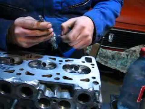 Как притереть клапана  своими руками без инструмента\How to grind in the valve?