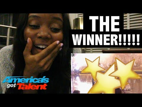 AMERICA'S GOT TALENT 2017 - WINNER RESULTS - REACTION!