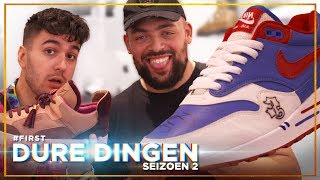 QUCEE en VERAS CHECKEN SNEAKERS van €20.000: DURE DINGEN #FIRST