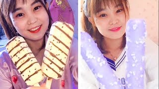 ASMR Ice Cream Eating ► Best Crunchy Sounds For Relaxing