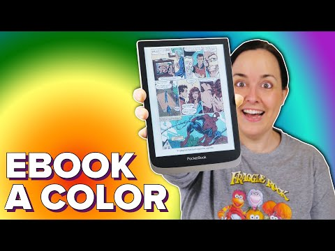 ¡POR FIN! Lector de EBOOKS en COLOR (PocketBook InkPad)