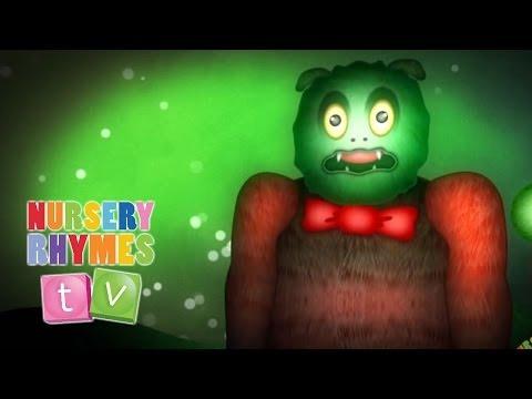 THE MONSTER SONG | Nursery Rhymes TV. Toddler Kindergarten Preschool...