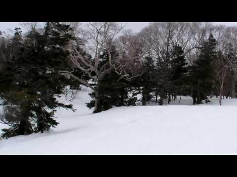網張温泉スキー場で滑ってきた。#3 リフトで山頂を目指す。