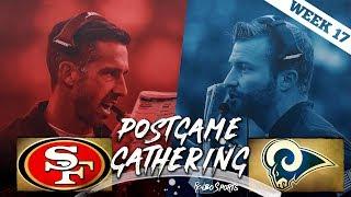 San Francisco 49ers VS Los Angeles Rams Week 17 NFL 2017 Postgame Gathering
