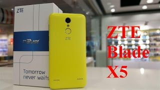 Обзор телефона ZTE Blade X5