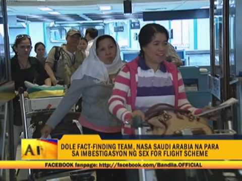 Dole Team Flies To Saudi For Sex-for-flight Probe video