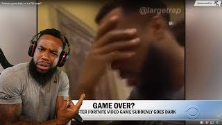 CBS PUT ME ON TV FOR HITTING MY LAPTOP OVER FORNITE BLACK HOLE!