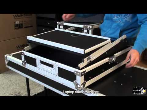 Flight Case Walkasse WM1912LTS- Rack mount mixer 19