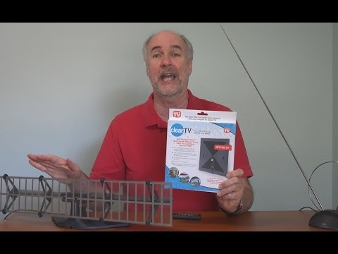 Clear TV- As Seen On TV Antenna Review in 4k   EpicReviewGuys