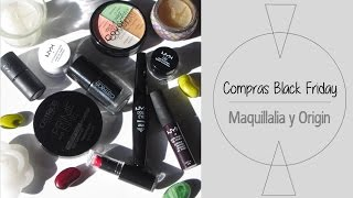 Compras Black Friday: Maquillalia y Origin | Asami
