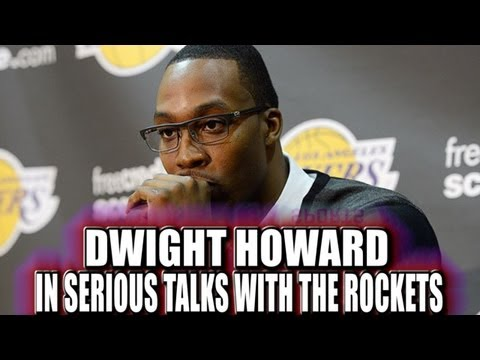 Dwight Howard talks about signing with the  Houston Rockets