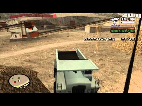 GTA San Andreas - Mission #75 - Explosive Situation