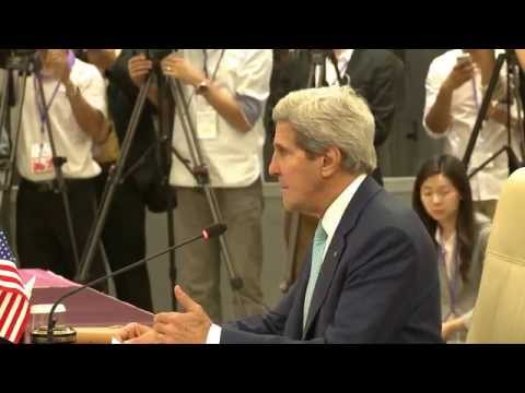 Secretary Kerry Delivers Remarks at the U.S.-ASEAN Ministerial Meeting