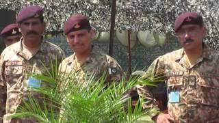 Pak Army, Mangla Cantt