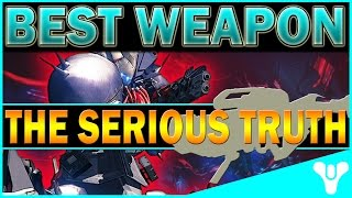 Destiny - THE BEST WEAPON AGAINST AKSIS! The Truth DPS Output! AGE OF TRIUMPH
