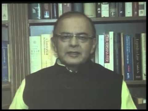 Arun Jaitley speaks on tax