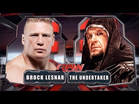 Wwe Raw 2014 - The Undertaker Vs Brock Lesnar - Full Match video