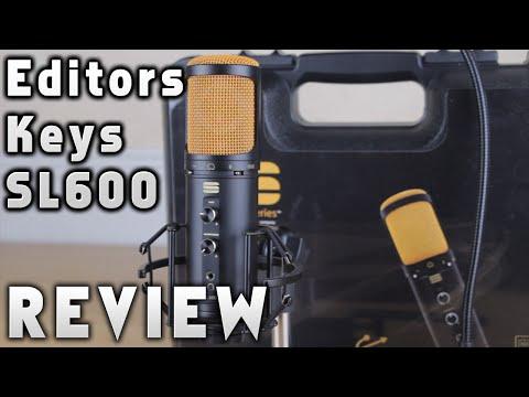 Editors Keys SL600 Review [USB Microphone]