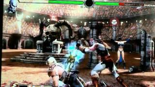 Kratos vs Shao Khan