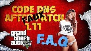 GTA5 ONLINE-EXPLICATION CODES DNS (F.A.Q 1000 ABONNES ?)