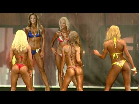 FIBO Power PRO 2011 - Bikini Fitness Model Vergleiche Finale - Best Body Nutrition
