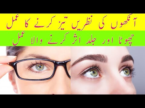 Wazifa For Eyesight | Nazar ki kamzori ka wazifa | Nazar Ka Amal