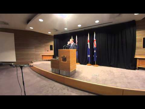 NZ PM John Key's Post Cabinet Press Conference - 9 March 2015