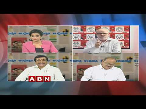 Debate on Kadapa Steel Plant and TDP MPs Protest in Delhi | Public Point | Part 1 | ABN Telugu