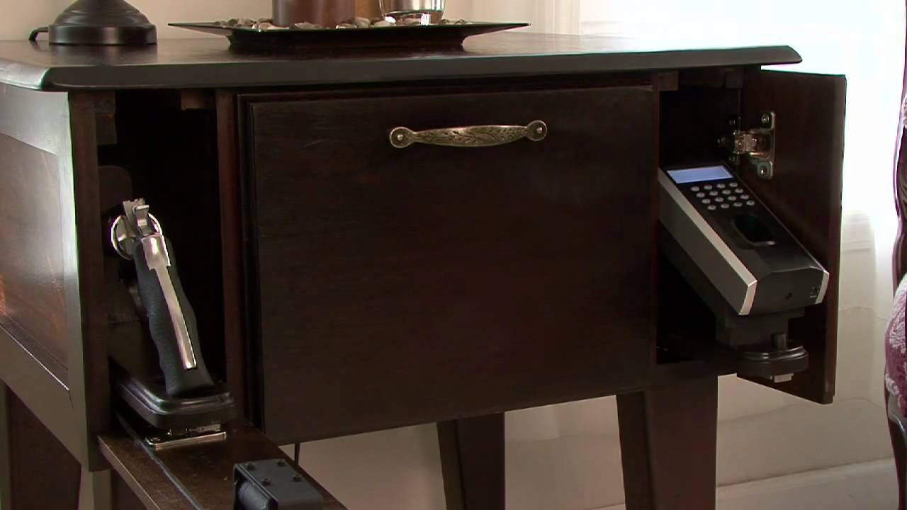 Gun safes disguised furniture