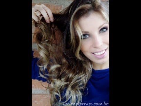 Cabelos Ondulados, com Luciane Ferraes