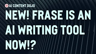 Download lagu Exploring Frase.io's New AI Writing Powers | Tour of Frase AI