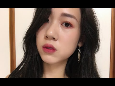 Red Makeup Tutorial微醺的日常酒紅夕陽妝
