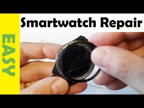 How to Repair Samsung Gear S2 Classic   Bezel Insert Came Off Washing My Hands