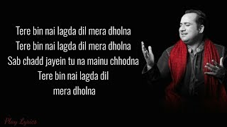 Tere Bin Rahat Fateh Ali Khan Simmha Asees Kaur Tanishk Bakshi Simmba