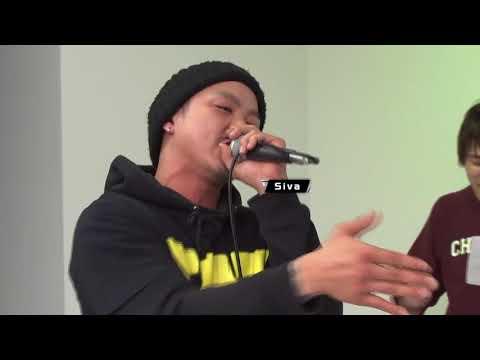 MULBE vs Siva/LINE MUSIC × 戦極 ORIGINAL BATTLE BEA TVOL2(17.11.7)