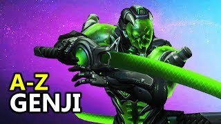 ♥ A - Z Genji - Heroes of the Storm (HotS Gameplay)