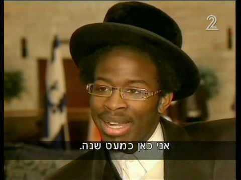 כוכב הזמר החסידי השחור הראשון The first black hasidic music star