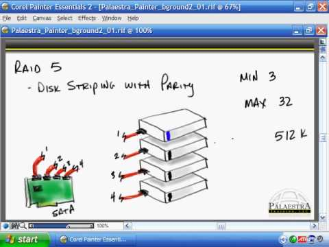 CompTIA A+ Video Training - RAID and SCSI