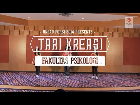 Tari Kreasi - Fakultas Psikologi (juara 1) video