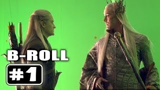 THE HOBBIT 2 : Behind the Scenes B-Roll Video # 1