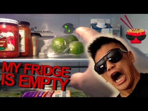 MY FRIDGE IS EMPTY! - Peter Chao Vlog