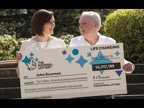 Scottish Man Wins £10 Million  LotteryJackpot