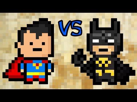 Бэтмэн VS Супермэн - Команды На Супергероев В Майнкрафт Без Модов