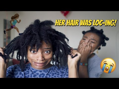 Download Lagu  Rescuing My Subscriber's Natural Hair!!! S1 E1 Mp3 Free