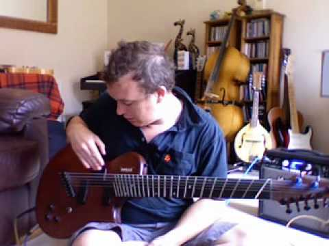 Charlie Hunter 8 string guitar demo