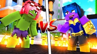 Minecraft ITA - HULK PHERE VS THANOS STEF