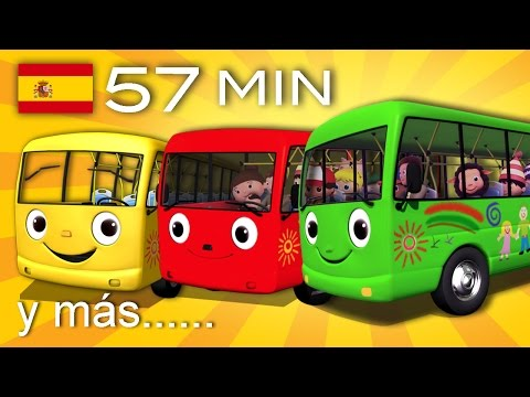 The Wheels on the Bus | And many more children's songs | 57 min of LittleBabyBum!
