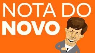 Partido NOVO nega apoio ao Bolsonaro!